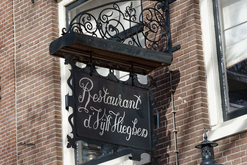 Enseigne Hollande Restaurant Amsterdam