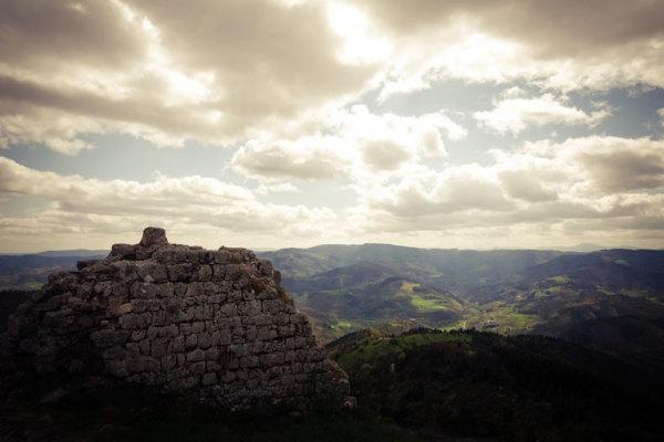 Paysage Ardeche Vernoux Montagne