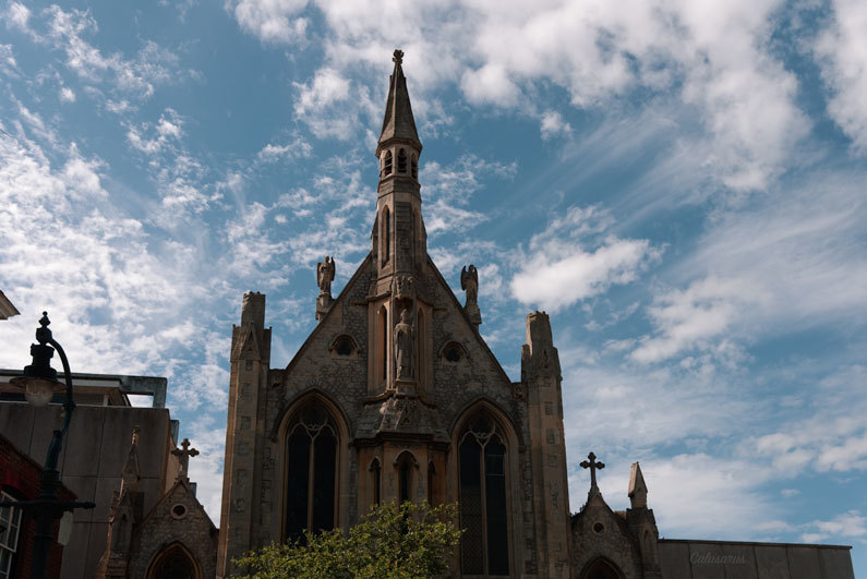 Architecture Kent UK Lieu sacré