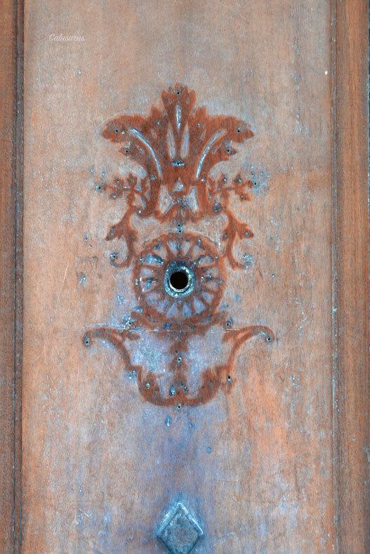 Detail porte Drome 26 Drome Crest