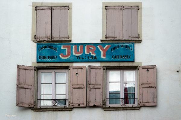 Architecture fenêtre publicite