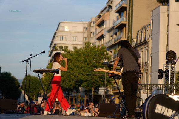 Musique ville paysage Valence Drome 26 Foule
