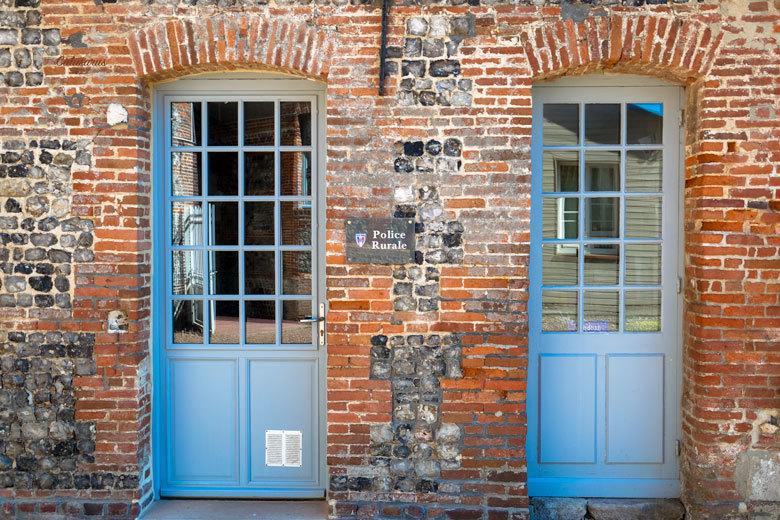 Fenêtre Porte Reflet