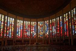Architecture église vitraux Yvetot