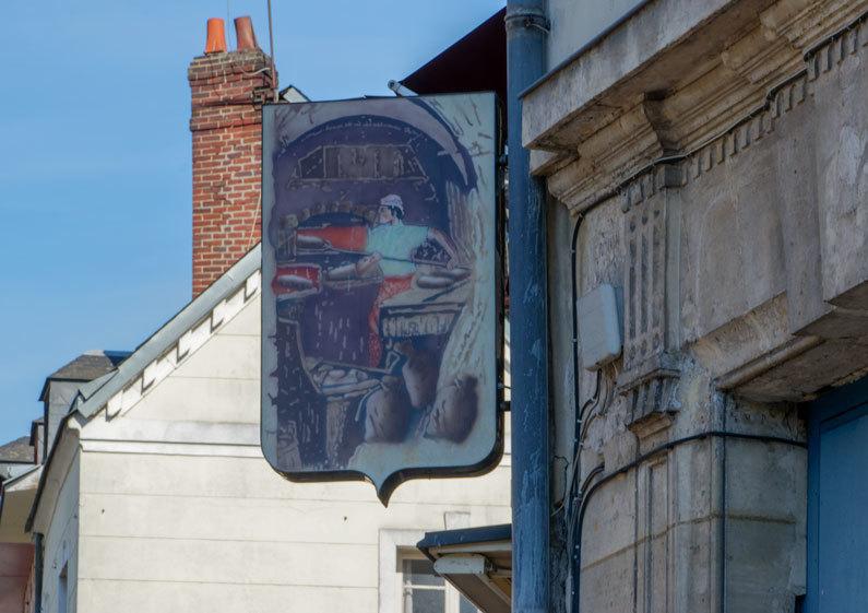 Enseigne Boulangerie Rouen