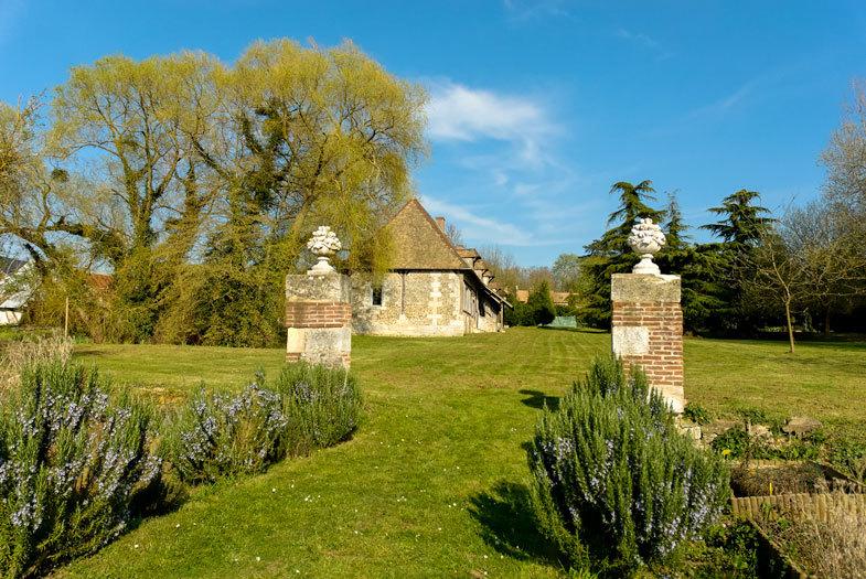 Evreux Eure Paysage Arbres Jardin Nature