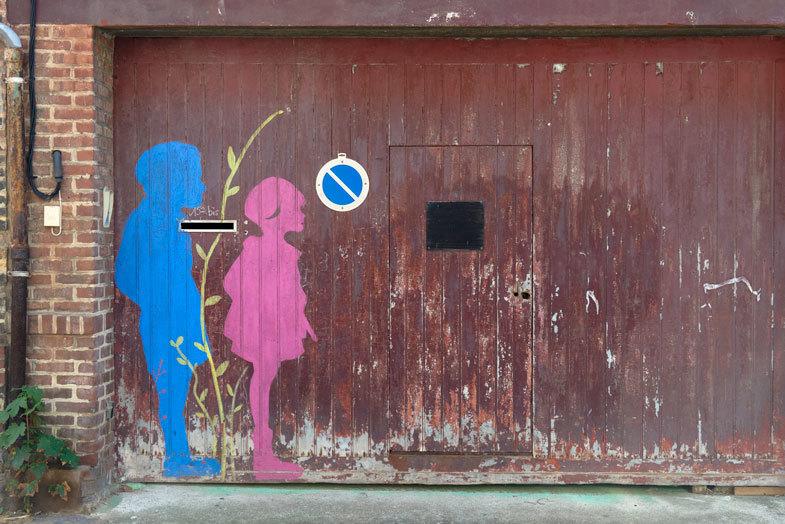 Portail Peinture Arts Silhouette