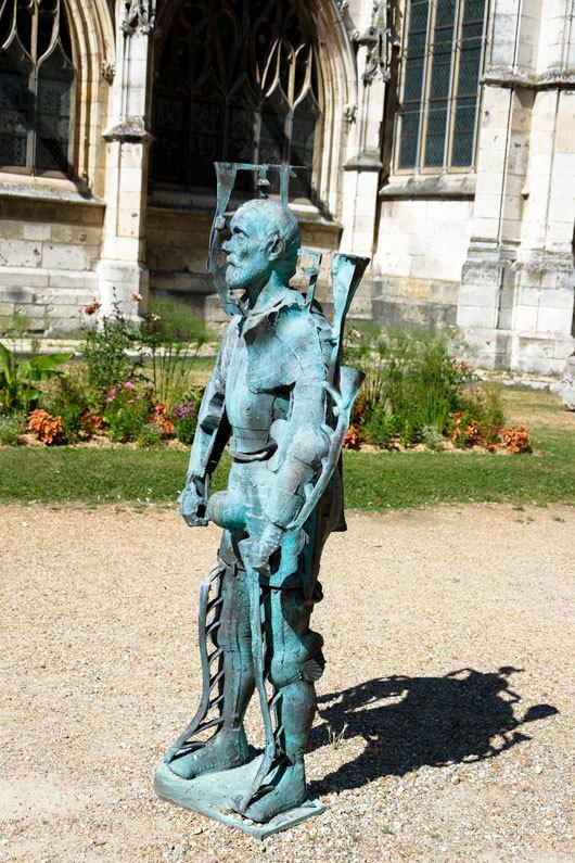 Statue Evreux Eure