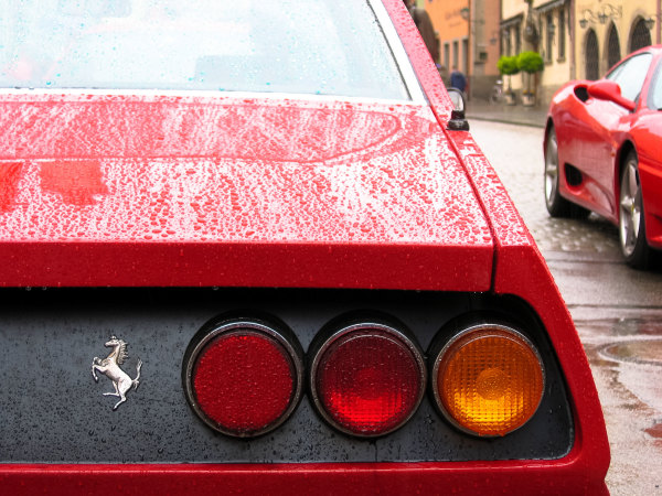 Automobile Allemagne Ferrari
