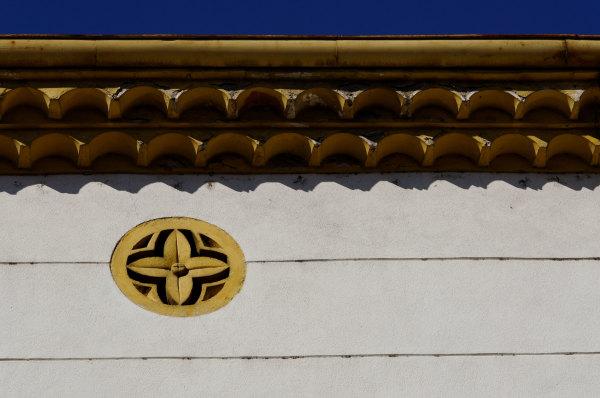 Gard toit architecture detail