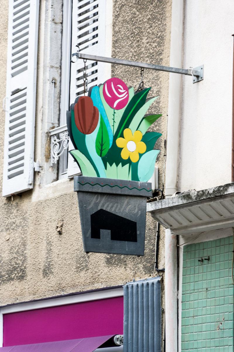 Enseigne Drome Fleur 26