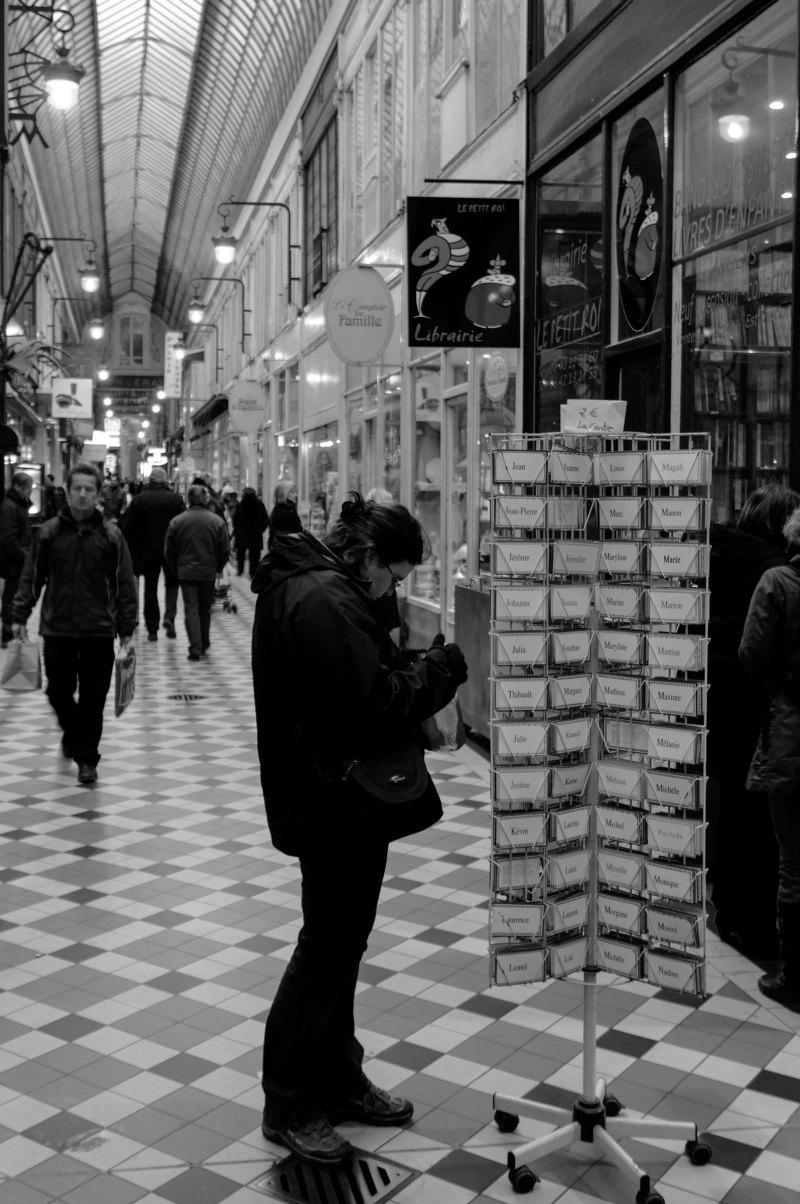 Paris N&B Silhouette