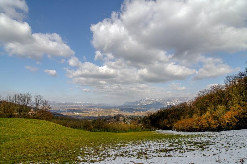 Paysage Hiver Drome 26 Montagne