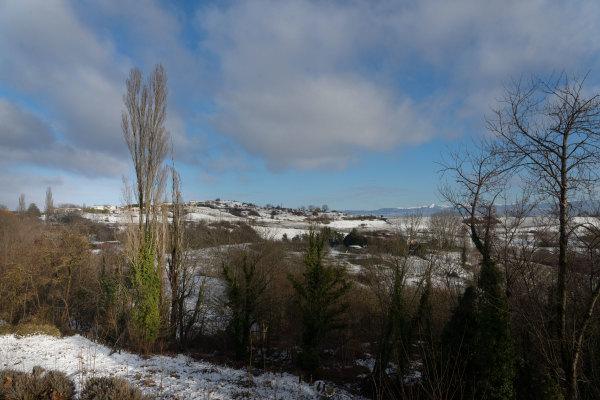Drome 26 Paysage Landscape Hiver Winter