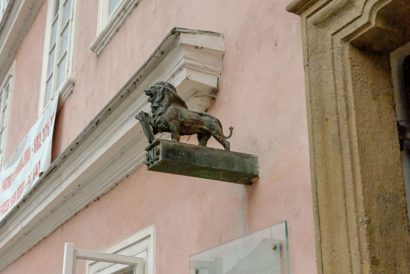 Art Enseigne Lion Animal