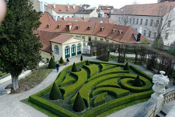 Topaire Ville Toit Prague