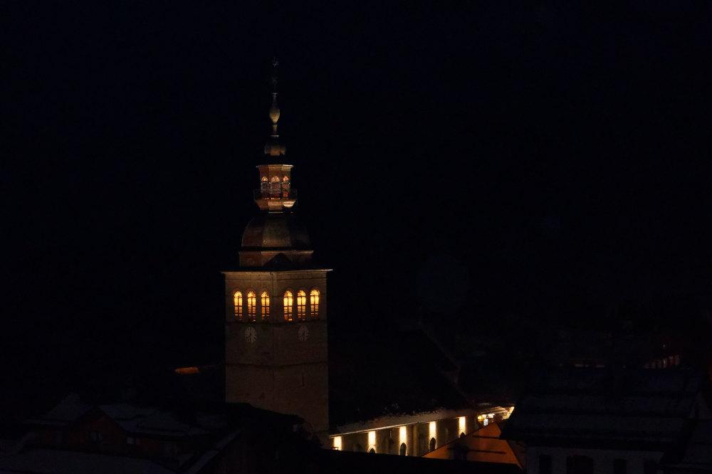Nuit Architecture Tour Ville Paysage