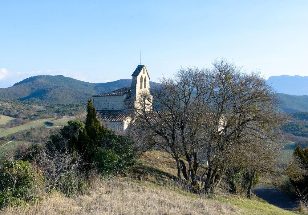 Drome 26 paysage Eglise nature