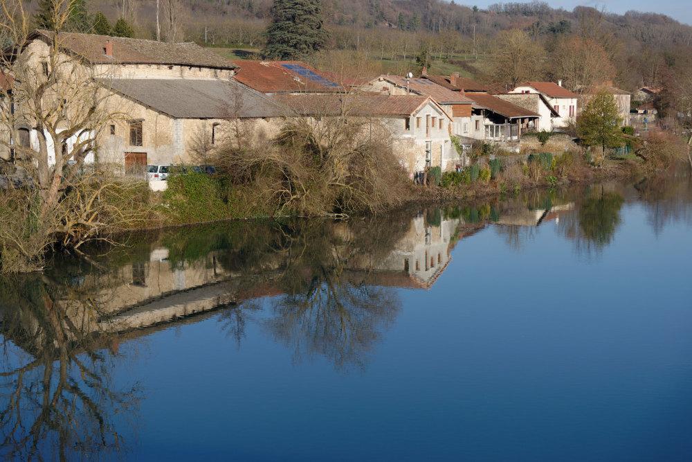Isère Reflet Rivière Paysage