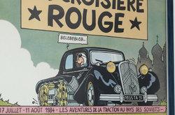 Chabeuil Drome 26 Tintin BD Automobile Citroen