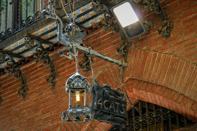 Enseigne Beau-arts Barcelone