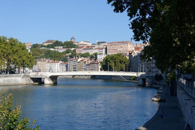 Lyon Fleuve Paysage Pont