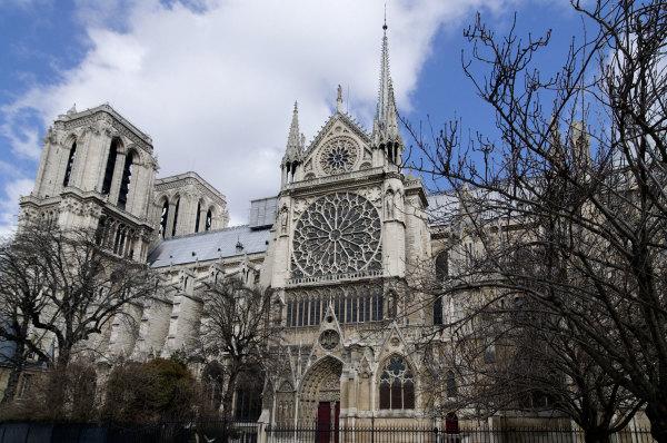 Paris Cathedrale Notre-Dame