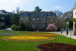 Paris Jardin Architecture Fleurs
