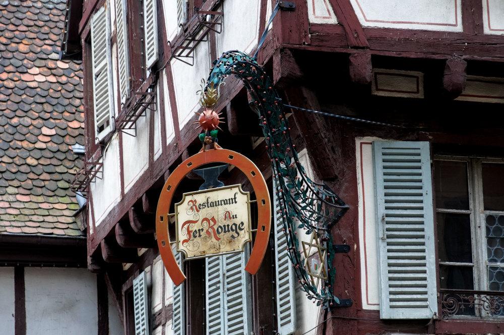 Enseigne Colmar Restaurant