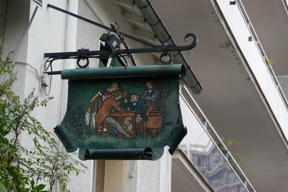 Paris Enseigne Art Restaurant