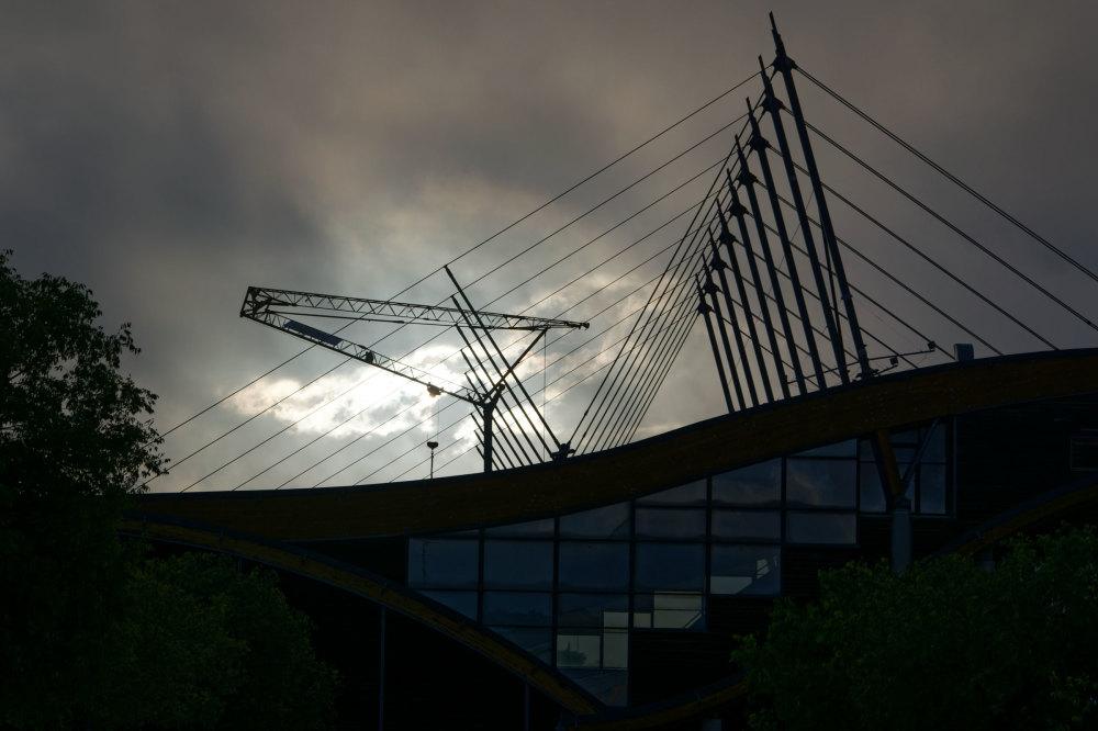 Drome 26 Valence Architecture Nikon Contre jour