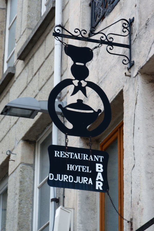 Enseigne St-Etienne Restaurant
