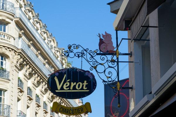 Enseigne Paris Charcuterie