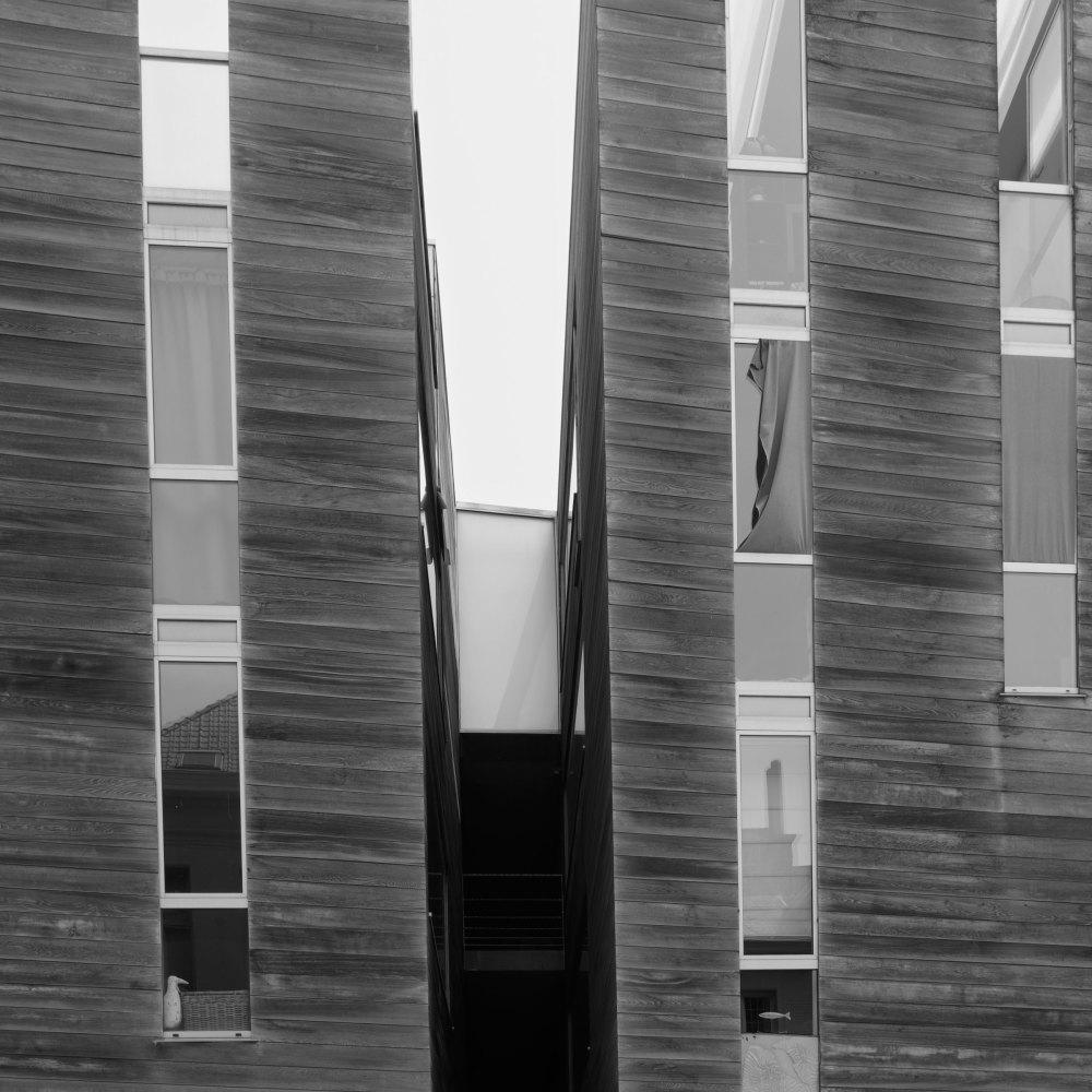 Belgique N&B Architecture