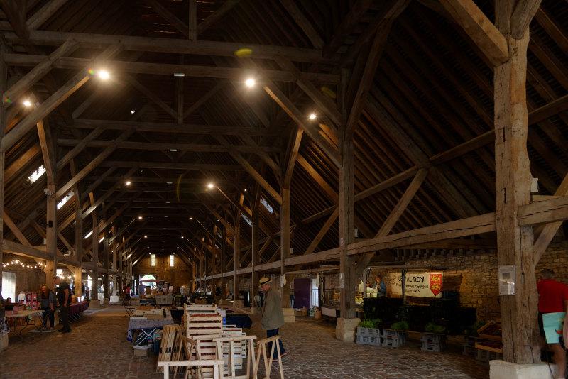 Architecture normandie Marché Halles