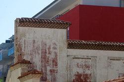 Mur texture peinture Architecture