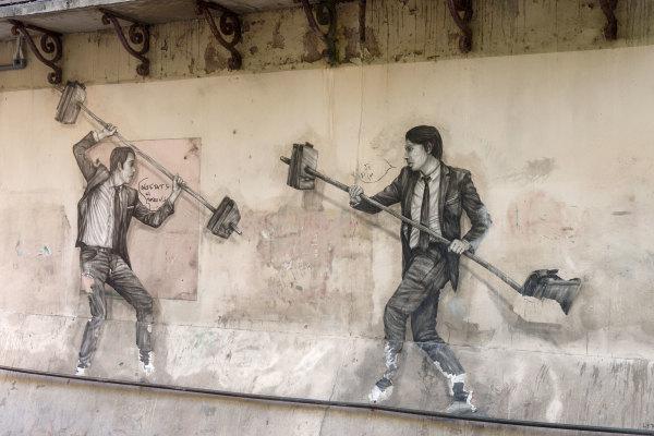 Peinture Mur Sete Herault
