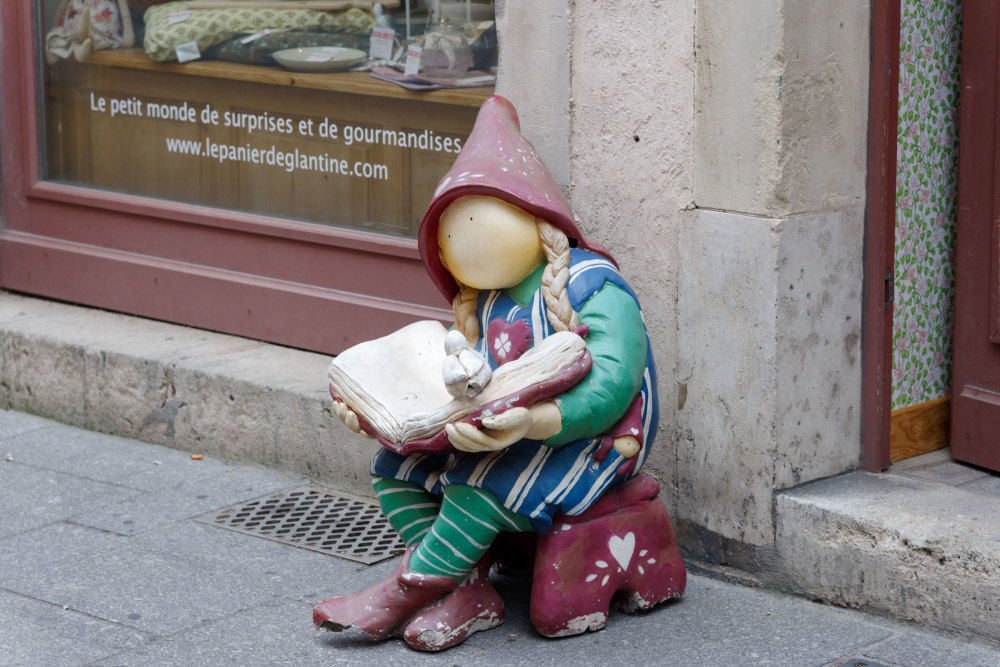 Art statue silhouette rue