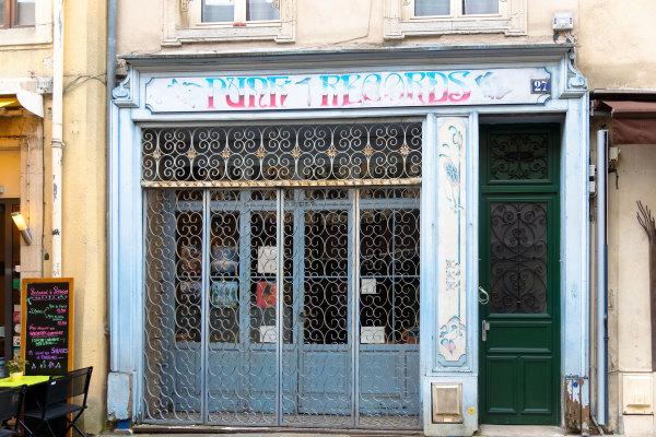 Ville rue Nancy Lorraine Magasin