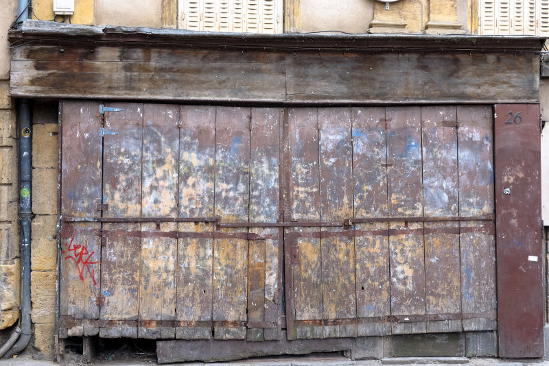 Metz Moselle Portail peinture