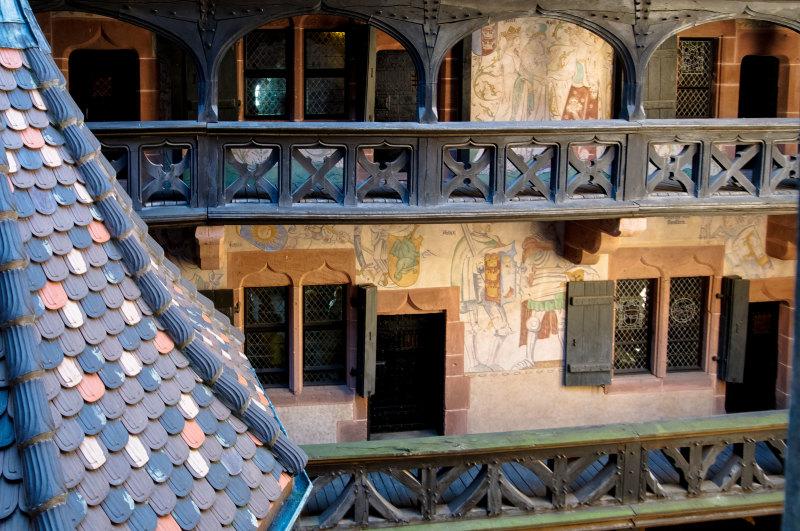 Monument fenêtre peinture Architecture chateau
