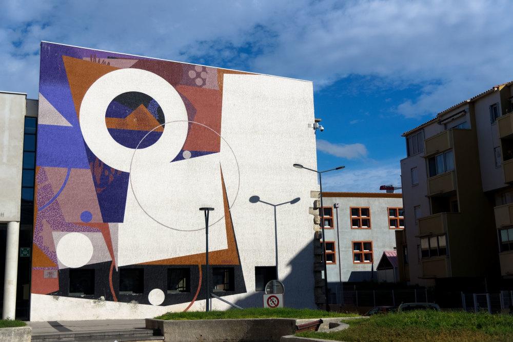 Architecture Art Peinture Site Herault