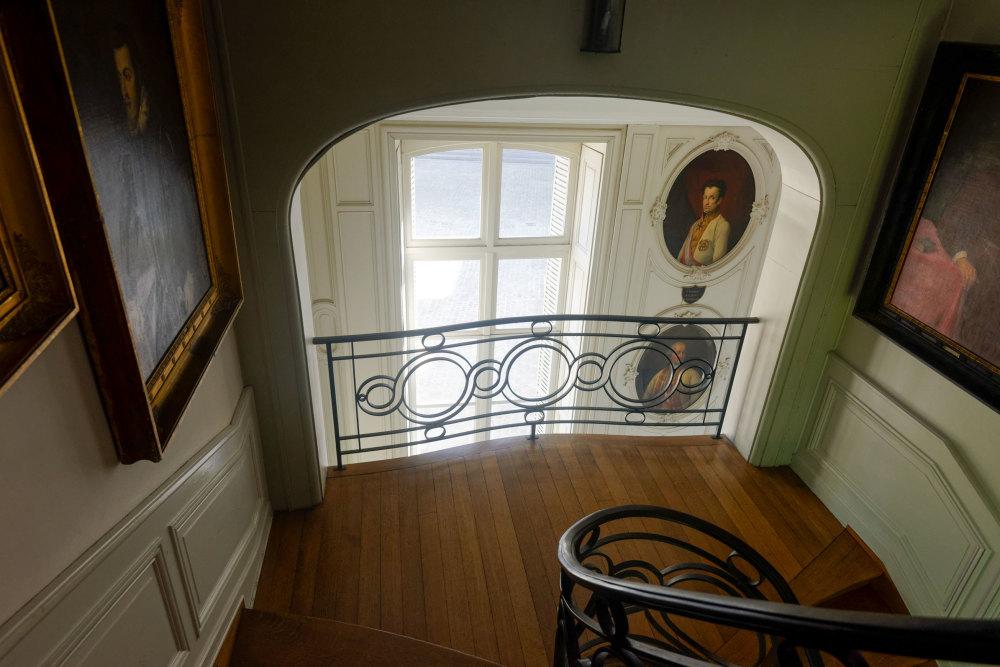 Art Escalier Peinture Musée