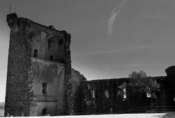 Architecture N&B Ruines Château