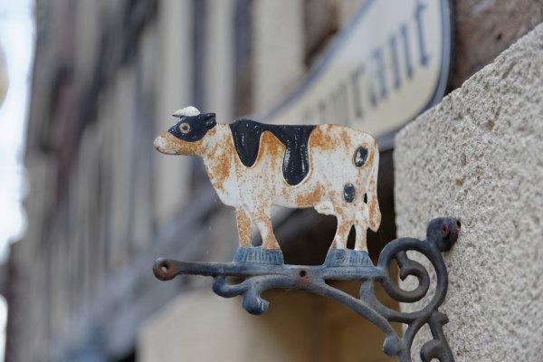 Eure Enseigne Vache