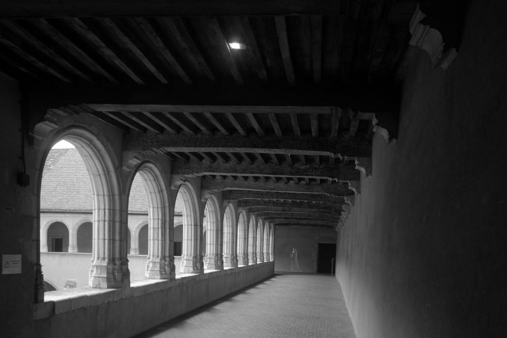 Brou Bourg-En-Bresse Ain N&B Architecture