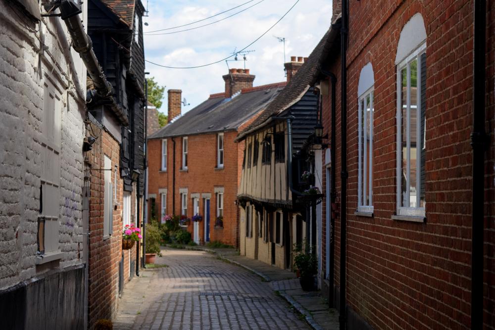 Rue Kent Canterbury Paysage