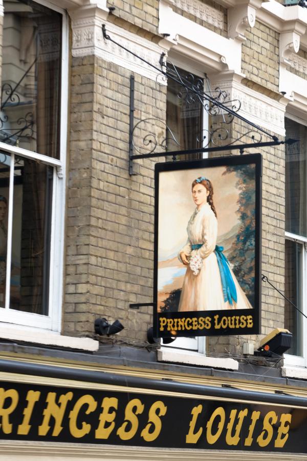 Enseigne Londres Portrait