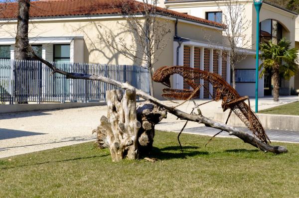 Drome 26 Montelier Beaux-Arts Sculpture Animaux