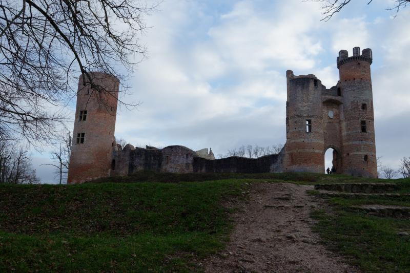 Paysage Chateau Ruine Isere